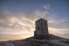 Slottar i landskapet av Mlaga, Teba Royaltyfri Foto