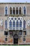 Slottar längs Grand Canal, Venedig, Italien Royaltyfria Foton