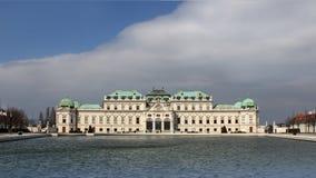 SlottBelvedere i Wien Royaltyfri Bild