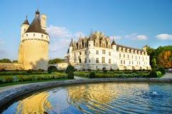 slottchenonseau Loire Valley Fotografering för Bildbyråer