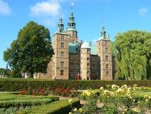 slottcopenhagen rosenborg arkivfoto