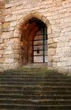 slottdörr arkivbild