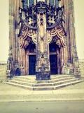 Slottdörrar Royaltyfri Bild