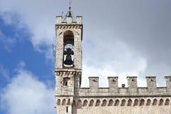 "Slottdei Consoli i Gubbio †""Italien Royaltyfri Bild"
