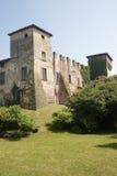 slottdi lombardia medeltida romano fotografering för bildbyråer