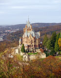 slottdrachenburg germany Arkivbilder