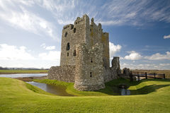 slottdumfries scotland threave Royaltyfria Foton