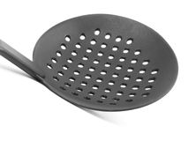 Slotted Spoon Stock Photo