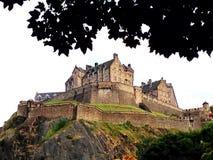 slottedinburgh kungarike förenade scotland Royaltyfri Bild