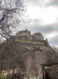 slottedinburgh kungarike förenade scotland Royaltyfri Foto