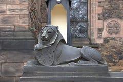 slottedinburgh kungarike förenade scotland Arkivbilder