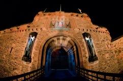 slottedinburgh kungarike förenade scotland Fotografering för Bildbyråer