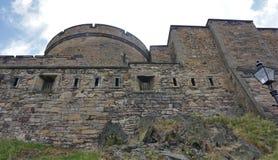 slottedinburgh kungarike förenade scotland royaltyfri fotografi