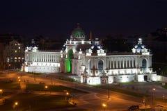 Slotten av bondedepartementet av jordbruk April natt Natt Kazan Royaltyfri Fotografi
