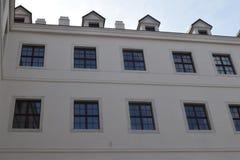 Slotten av Bratislava Royaltyfri Fotografi