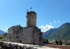 Slotten av Buonconsiglio i Trento Royaltyfria Bilder