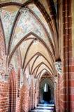 Slotten av den Teutonic beställningen i Malbork Arkivfoton