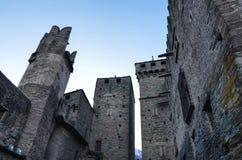Slotten av Fenis arkivbilder