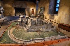 Slotten av Fenis royaltyfri fotografi