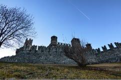 Slotten av Fenis royaltyfria bilder