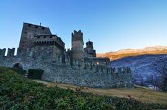 Slotten av Fenis fotografering för bildbyråer