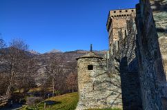 Slotten av Fenis arkivbild