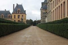 Slotten av Fontainebleau Arkivbild
