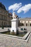 Slotten av Fontainebleau, Frankrike Royaltyfri Foto