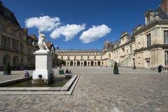 Slotten av Fontainebleau, Frankrike Royaltyfri Fotografi