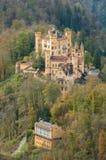 Slotten av Hohenschwangau i Bayern, Tyskland Royaltyfria Foton