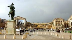 Slotten av konungsolen i Versailles Royaltyfri Foto