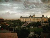 Slotten av kultur Royaltyfri Bild