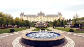 Slotten av kultur i Iasi, Rumänien royaltyfri fotografi