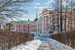 Kuskovo Moscow Royaltyfria Foton