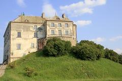 Slotten av Olesk Royaltyfria Foton