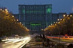Slott av parlamentet Arkivbilder