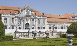 Slotten av Queluz i Portugal Royaltyfri Bild