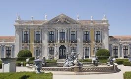 Slotten av Queluz i Portugal Fotografering för Bildbyråer