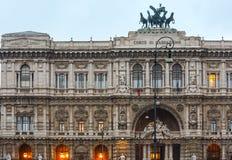 Slotten av rättvisa, Rome Royaltyfria Bilder