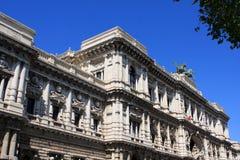 Slotten av rättvisa, Rome, Italien royaltyfri foto