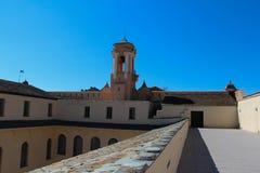 Slotten av regulatorer, museum av Bastia Corse france Arkivbilder