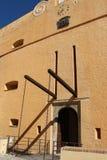 Slotten av regulatorer, museum av Bastia Corse france Arkivfoton