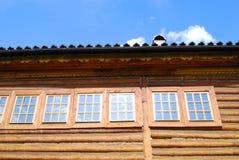Slotten av tsar Alexey Mikhailovich i Kolomenskoye parkerar Royaltyfria Bilder