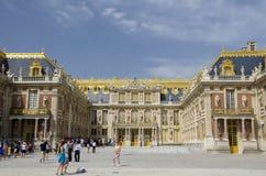 Slott av Versailles, Paris Royaltyfria Bilder