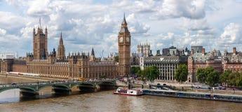 Slotten av Westmister i London Arkivfoto
