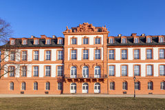 Slotten av Wiesbaden Biebrich Arkivfoto