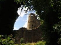Slotten fördärvar, Beaufort, Luxembourg Royaltyfria Foton