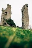 Slotten fördärvar i Irland Royaltyfria Bilder