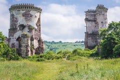 Slotten fördärvar i Ukraina fotografering för bildbyråer