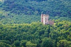 Slotten fördärvar i Ukraina Royaltyfria Bilder